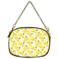 Lemons Pattern Chain Purses (one Side)  by Nexatart