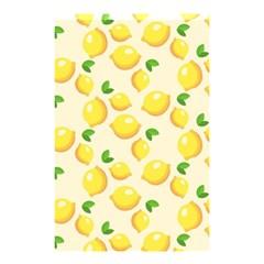 Lemons Pattern Shower Curtain 48  X 72  (small)  by Nexatart