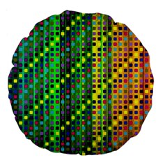 Patterns For Wallpaper Large 18  Premium Flano Round Cushions by Nexatart