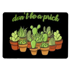 Cactus   Dont Be A Prick Samsung Galaxy Tab 10 1  P7500 Flip Case by Valentinaart