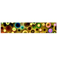 Colorful Circle Pattern Flano Scarf (large) by Costasonlineshop