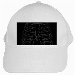 X Ray White Cap by Valentinaart