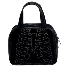X Ray Classic Handbags (2 Sides) by Valentinaart