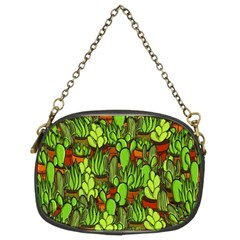 Cactus Chain Purses (two Sides)  by Valentinaart
