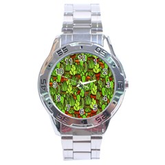 Cactus Stainless Steel Analogue Watch by Valentinaart