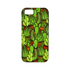 Cactus Apple Iphone 5 Classic Hardshell Case (pc+silicone) by Valentinaart