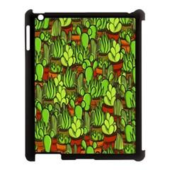 Cactus Apple Ipad 3/4 Case (black) by Valentinaart