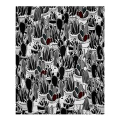 Cactus Shower Curtain 60  X 72  (medium)  by Valentinaart