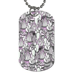 Cactus Dog Tag (one Side) by Valentinaart
