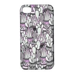 Cactus Apple Iphone 4/4s Hardshell Case With Stand by Valentinaart