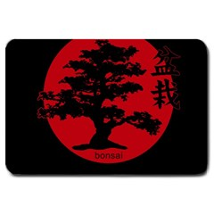 Bonsai Large Doormat  by Valentinaart