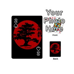 Bonsai Playing Cards 54 (mini)  by Valentinaart