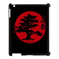 Bonsai Apple Ipad 3/4 Case (black) by Valentinaart