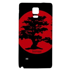 Bonsai Galaxy Note 4 Back Case by Valentinaart