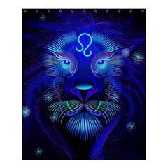 Sign Leo Zodiac Shower Curtain 60  X 72  (medium)  by Mariart