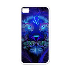 Sign Leo Zodiac Apple Iphone 4 Case (white) by Mariart