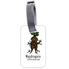 Mandrake Plant Luggage Tags (two Sides) by Valentinaart