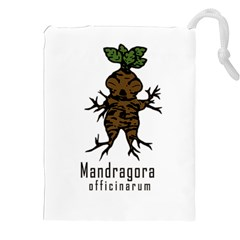 Mandrake Plant Drawstring Pouches (xxl) by Valentinaart