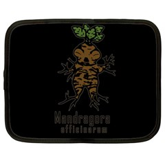 Mandrake Plant Netbook Case (xxl)  by Valentinaart