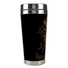 Mandrake Plant Stainless Steel Travel Tumblers by Valentinaart