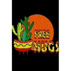 Cactus   Free Hugs 5 5  X 8 5  Notebooks by Valentinaart