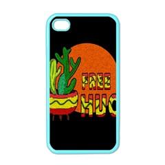 Cactus   Free Hugs Apple Iphone 4 Case (color) by Valentinaart