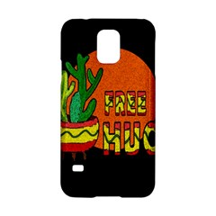 Cactus   Free Hugs Samsung Galaxy S5 Hardshell Case  by Valentinaart