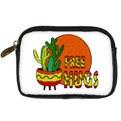 Cactus   Free Hugs Digital Camera Cases by Valentinaart
