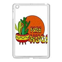 Cactus   Free Hugs Apple Ipad Mini Case (white) by Valentinaart