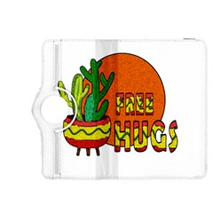 Cactus   Free Hugs Kindle Fire Hdx 8 9  Flip 360 Case by Valentinaart