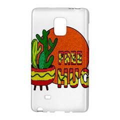 Cactus   Free Hugs Galaxy Note Edge by Valentinaart