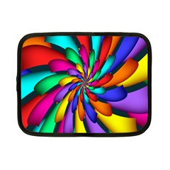 Star Flower Color Rainbow Netbook Case (small)  by Mariart