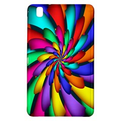 Star Flower Color Rainbow Samsung Galaxy Tab Pro 8 4 Hardshell Case by Mariart
