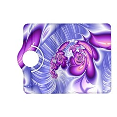 Space Stone Purple Silver Wave Chevron Kindle Fire Hd (2013) Flip 360 Case by Mariart