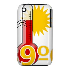 Thermometer Themperature Hot Sun Iphone 3s/3gs by Mariart