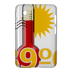 Thermometer Themperature Hot Sun Samsung Galaxy Tab 2 (7 ) P3100 Hardshell Case  by Mariart