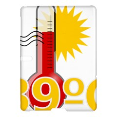 Thermometer Themperature Hot Sun Samsung Galaxy Tab S (10 5 ) Hardshell Case  by Mariart