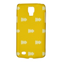 Waveform Disco Wahlin Retina White Yellow Galaxy S4 Active by Mariart