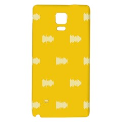 Waveform Disco Wahlin Retina White Yellow Galaxy Note 4 Back Case by Mariart