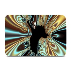 Silver Gold Hole Black Space Plate Mats