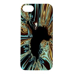Silver Gold Hole Black Space Apple Iphone 5s/ Se Hardshell Case by Mariart