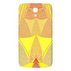 Wave Chevron Plaid Circle Polka Line Light Yellow Red Blue Triangle Samsung Galaxy Mega I9200 Hardshell Back Case by Mariart