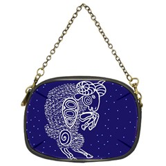 Aries Zodiac Star Chain Purses (two Sides)  by Mariart