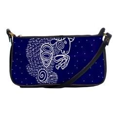 Aries Zodiac Star Shoulder Clutch Bags by Mariart