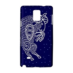 Aries Zodiac Star Samsung Galaxy Note 4 Hardshell Case by Mariart