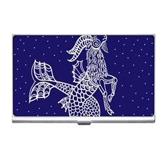 Capricorn Zodiac Star Business Card Holders by Mariart