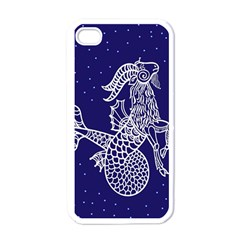 Capricorn Zodiac Star Apple Iphone 4 Case (white) by Mariart