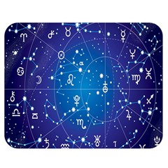 Astrology Illness Prediction Zodiac Star Double Sided Flano Blanket (medium)  by Mariart