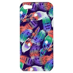 Bird Feathers Color Rainbow Animals Fly Apple Iphone 5 Hardshell Case by Mariart
