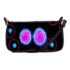 Cell Egg Circle Round Polka Red Purple Blue Light Black Shoulder Clutch Bags by Mariart